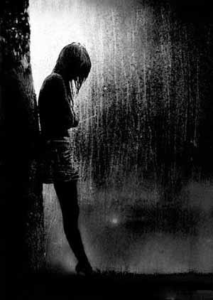 عکس غمگین و تنهایی
