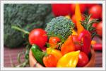 تصاویر زیبا و رنگی از سبزیجات تازه