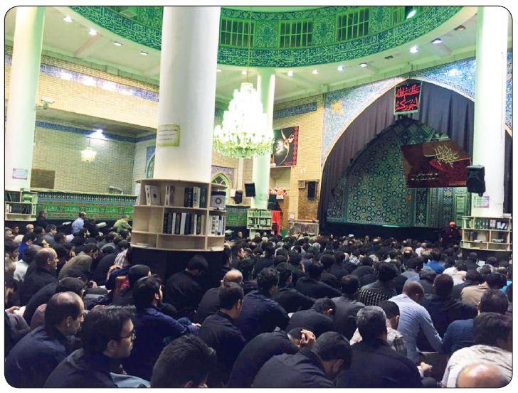 مراسم شب بیست و یکم ماه مبارک رمضان مسجد جامع شهر دماوند تیرماه 1394