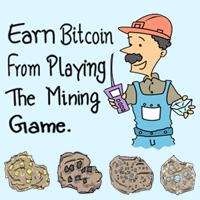 <br /> بازي استخراج معدن با کسب بيت کوين