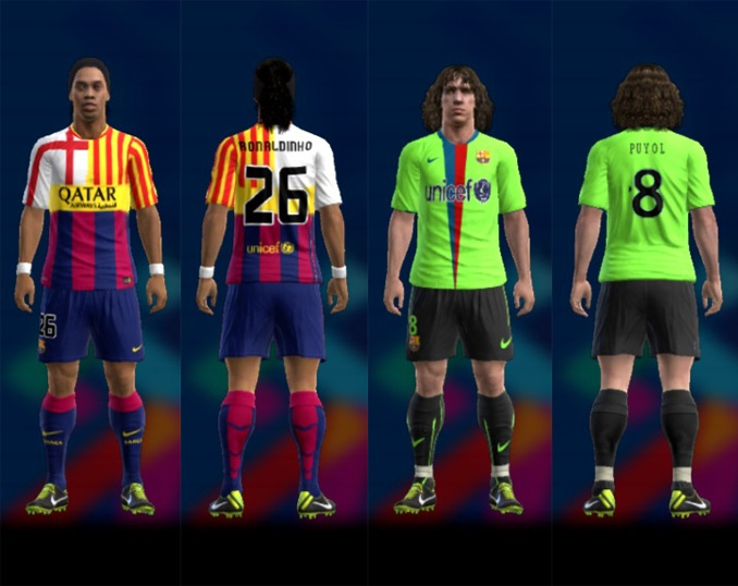 Pes 2013 Barcelona Fantasy Kit By A.R.M