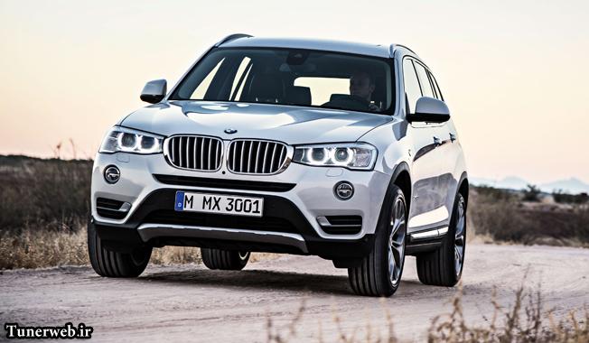 BMW X3 به عنوان یکی از پرفروش ترین خودرو ها
