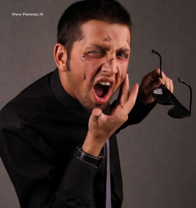 عکسهای محسن افشانی با گریم متفاوت , عکس های بازیگران