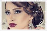 شینیون و آرایش عروس ایرانی