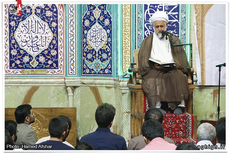 دانلود سخنرانی استاد صمدی | رمضان 94 | مسجد اعظم قلهک