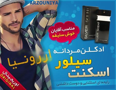 ادکلن مردانه سیلور اسکنت silver scent