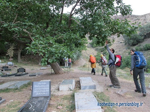 مسیر قله هفت خوانی