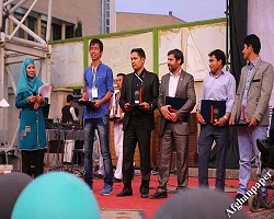 دومین هواپیمای بدون سرنشین، مبتکران جوان افغانستانی در دومین جشنواره گل سرخ تهران