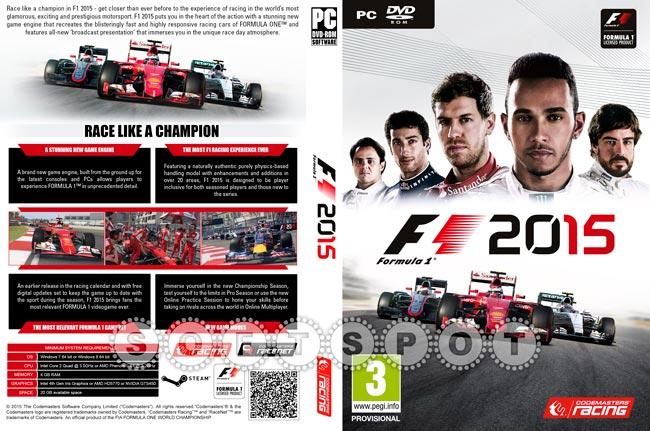 کاور بازی F1 2015
