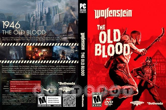 کاور بازی Wolfenstein: The Old Blood