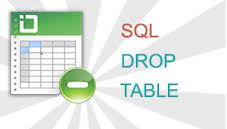 DROP TABLE SQL