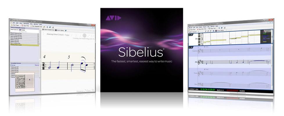 دانلود Avid Sibelius 8.0.0.66 - بهترین نرم افزار نت نویسی موسیقی