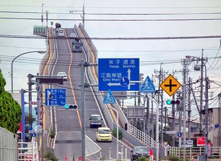 شیب دار ترین پل ماشین رو جهان , اخبار گوناگون