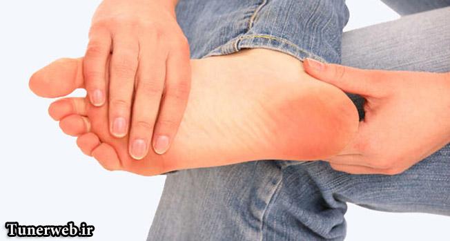 کدام بیماری ها را میتوان از طریق پا فهمید ؟