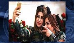 عکسهایی از دختران پیشمرگه کردستان عراق درحال مبارزه با داعش