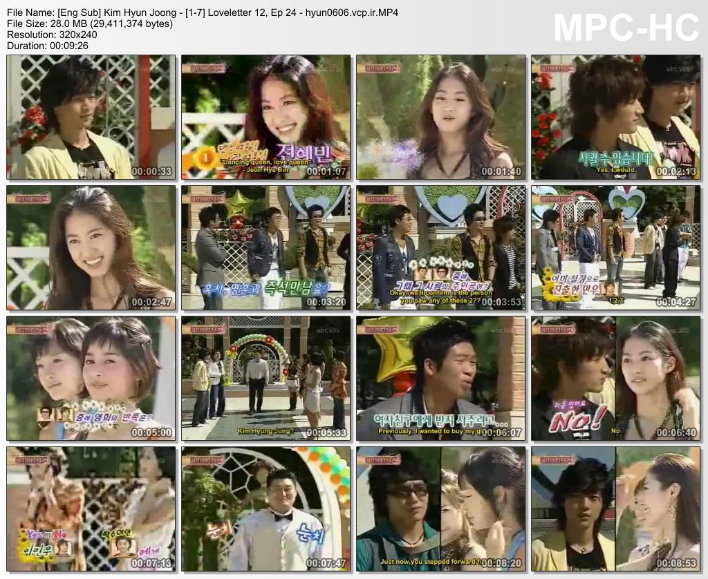 Eng Sub - Kim Hyun Joong - Loveletter 12, Ep 24