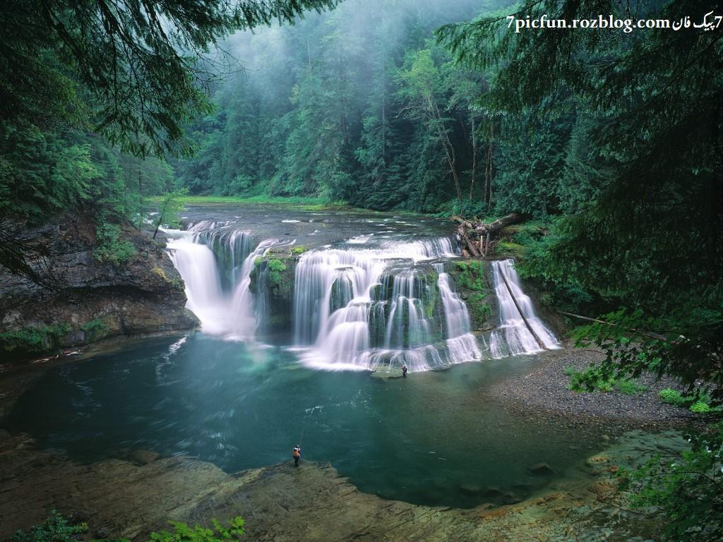 آبشارهای زیبا و دیدنی