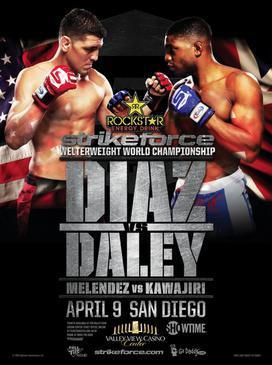 دانلود مسابقات استرایکفورس:  Strikeforce: Diaz vs. Daley+نسخه 720