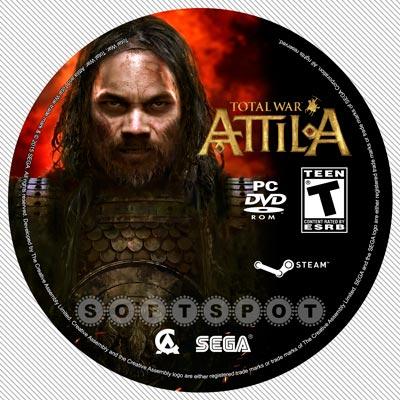 لیبلدیسک Total War: Attila