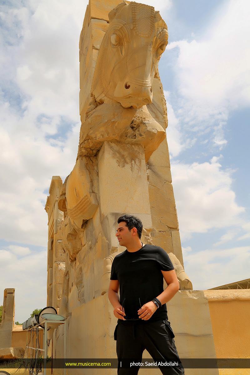 پست جدید حمید عسکری (سفرنامه شیراز)