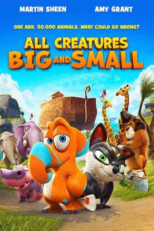 دانلود دوبله فارسی انیمیشن All Creatures Big and Small 2015