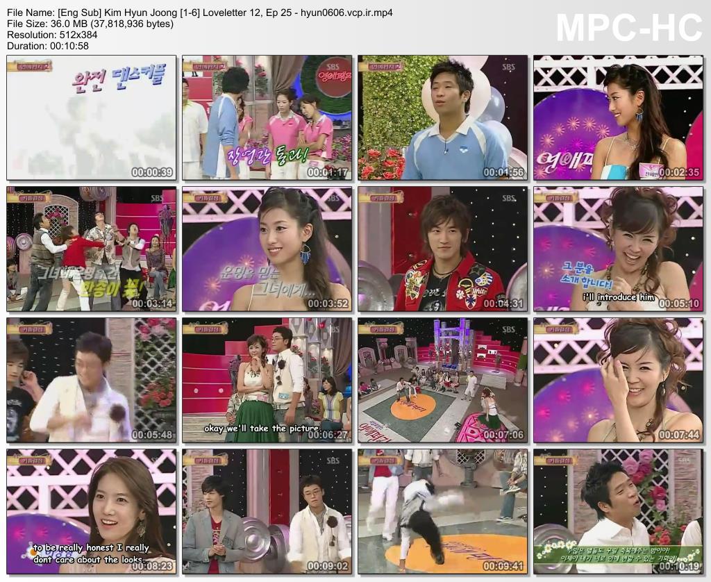 Eng Sub - Kim Hyun Joong - Loveletter 12, Ep 25