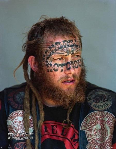 عکس های شرور ترین و بزرگترین باند خلافکار نیوزیلند , اخبار گوناگون