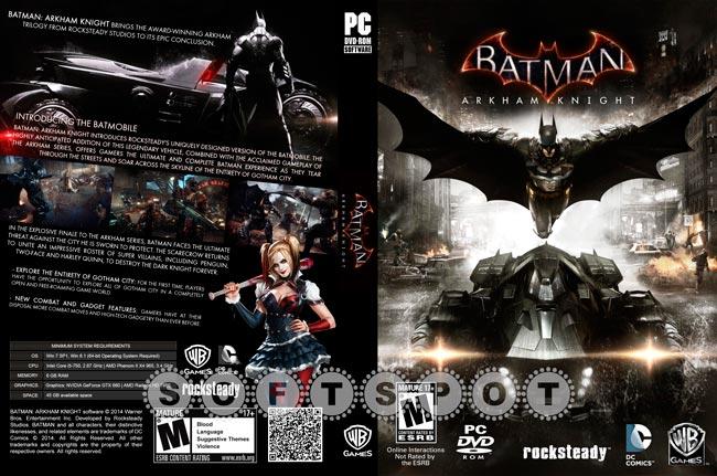 کاور بازی Batman Arkham Knight