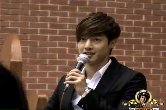 Kim Hyun Joong @ Artmatic Lucas Wedding 2012.06.30