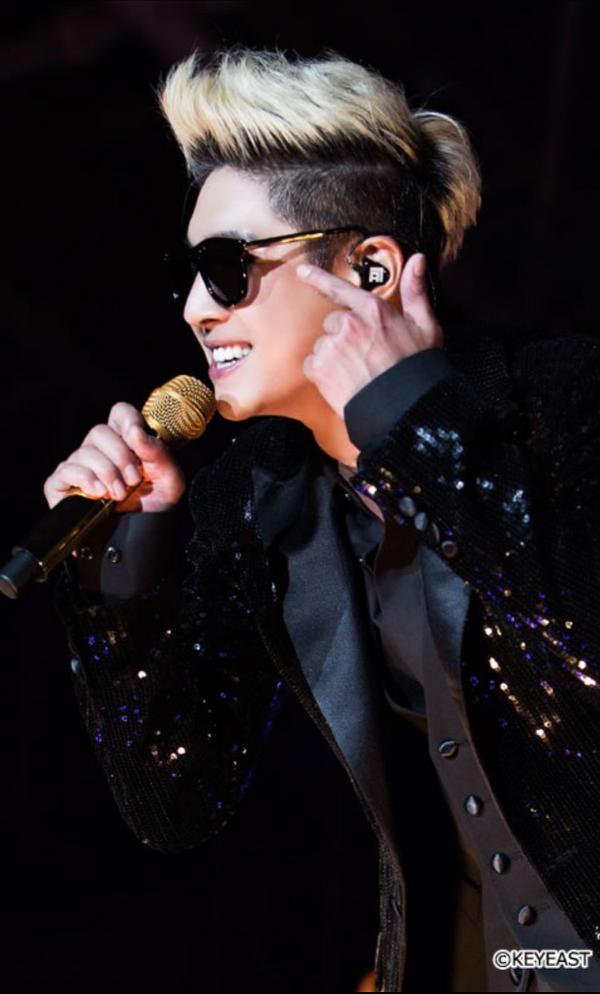 [Photo] Kim Hyun Joong - Japan Mobile Site Update [15.07.27]