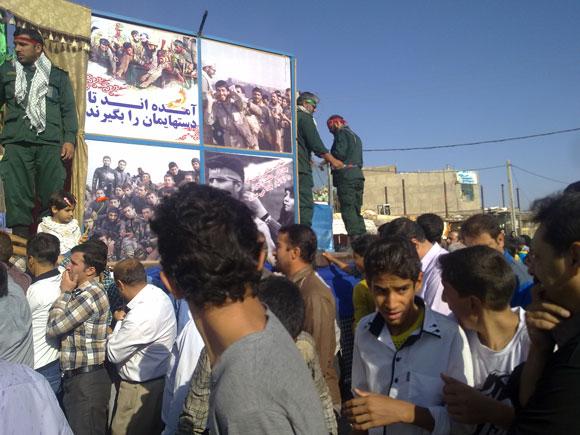 کاروان آلاله های گمنام غواص درشهرستان فلاورجان/گزارش تصویری از روستای دشتچی وروستای جوجیل