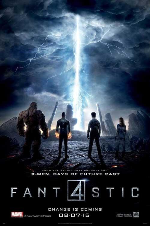 دانلود فیلم The Fantastic Four 4 2015