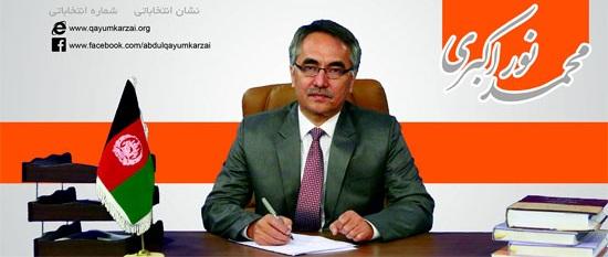 محمد نور اکبری درنامه ی خطاب به ریس جمهور: به انحصار حزبی در مناطق مرکزی کشور پایان داده شو