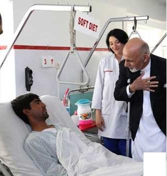 اشرف غنی؛ ببخشید که برادران من، شما را قتل عام می کنند+ تصاویر