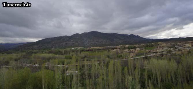 نمایی از روستای قلعه نو شهرستان کلات نادر