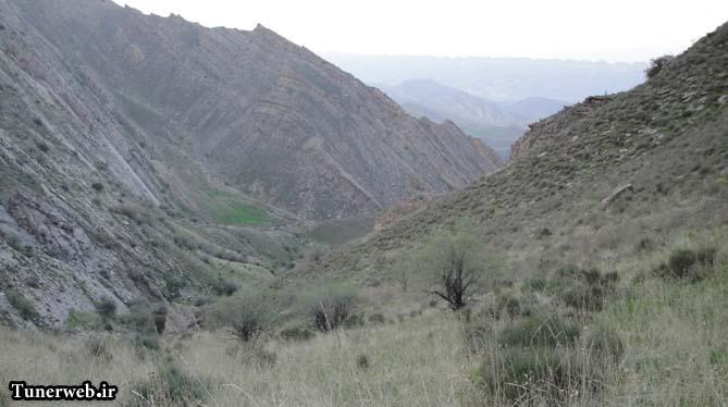 تصویری زیبا از ارتفاعات رشته کوه هزار مسجد ( علی دولی )