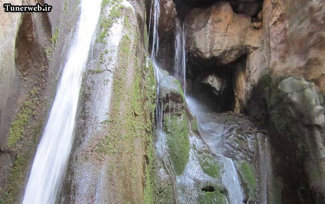تصویری زیبا از آبشارهای قره سو کلات نادر