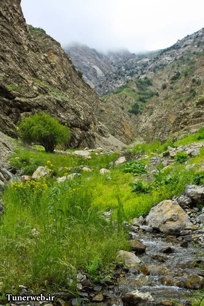 تصویری زیبا از قره سو کلات نادر