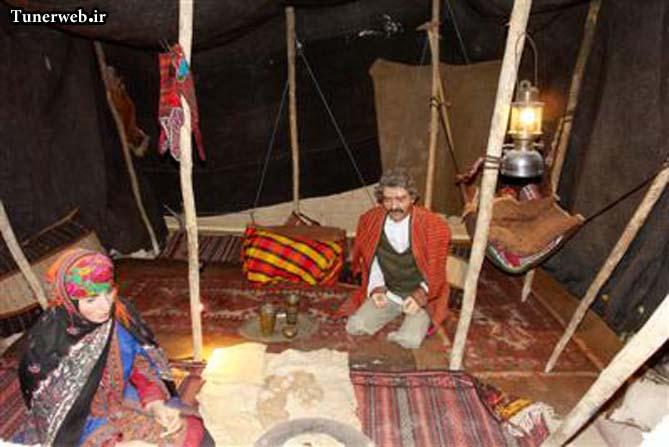 تصویری از غرفه زندگی عشایر موزه مردم شناسی شهر کلات نادر