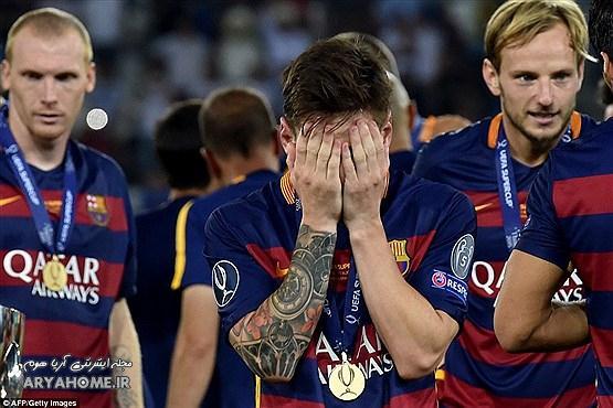 قهرمانی بارسلونا در تفلیس +[ عکس] , اخبار ورزشی
