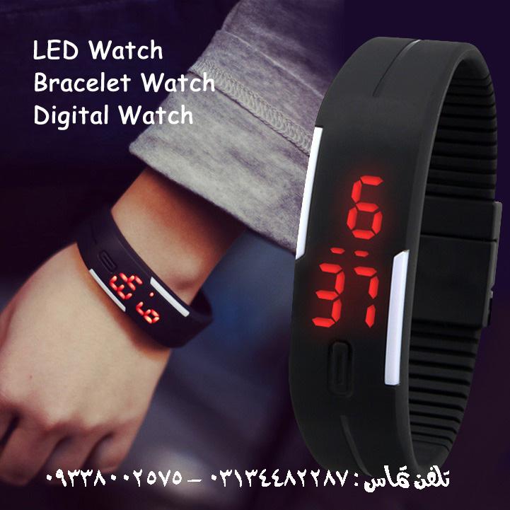 ساعت دستبندي LED اسپرت