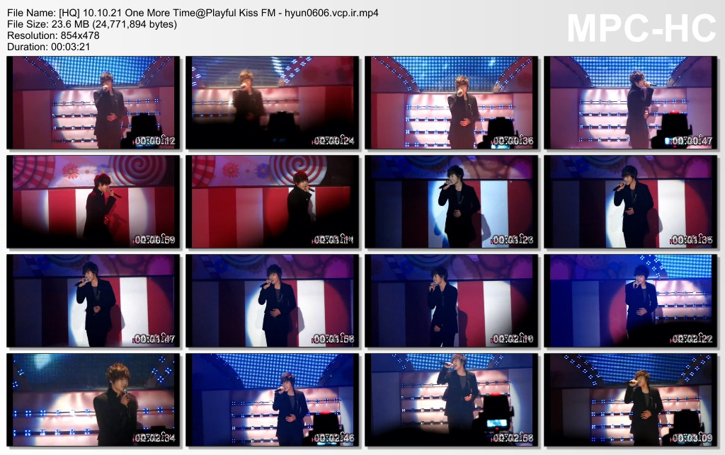 Seung Jo Collection - Fanmeeting - Performance - Goodbye Baek Seung Jo FM 2010.10.21