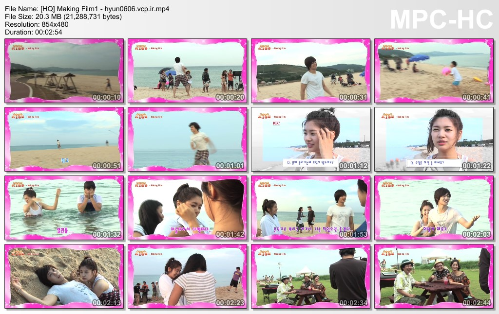 Seung Jo Collection - Making Film - Making Film of Nau.ghty Ki.ss
