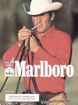 عکس کابوی در تبلیغات مارلبورو