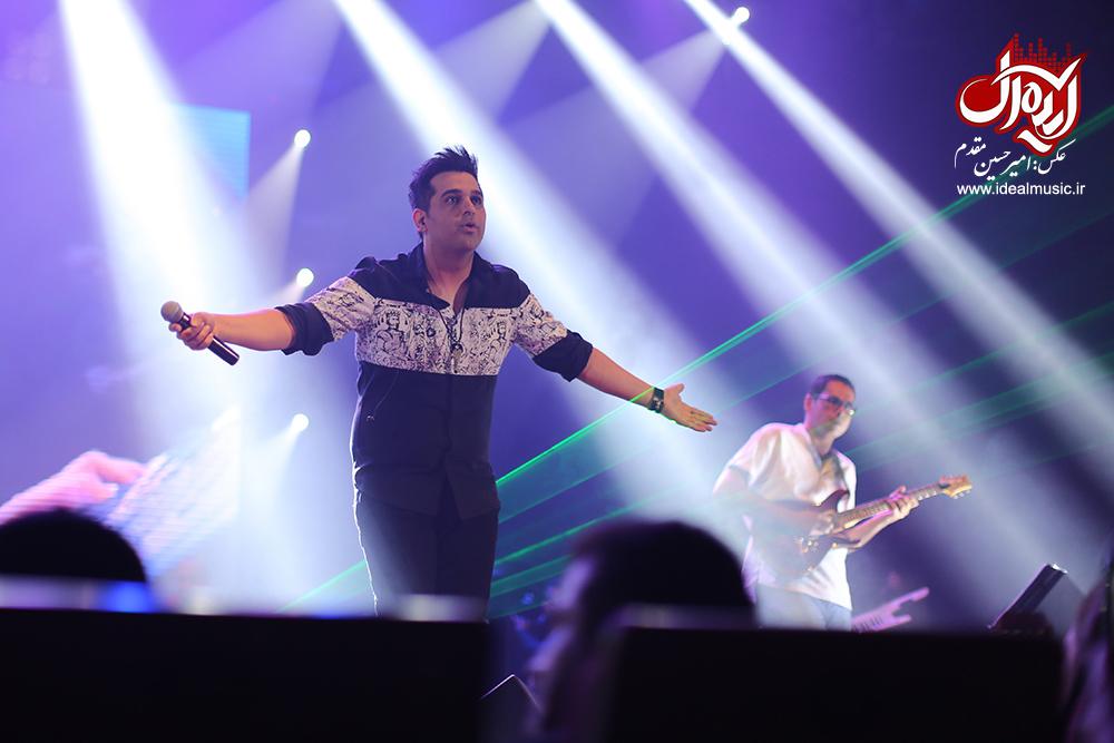 سری دوم تصاویر کنسرت 22 مرداد حمید عسکری