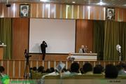 گزارش تصویری؛ سخنرانی استاد حسن عباسی با موضوع بررسی توافق هسته ای(برجام)