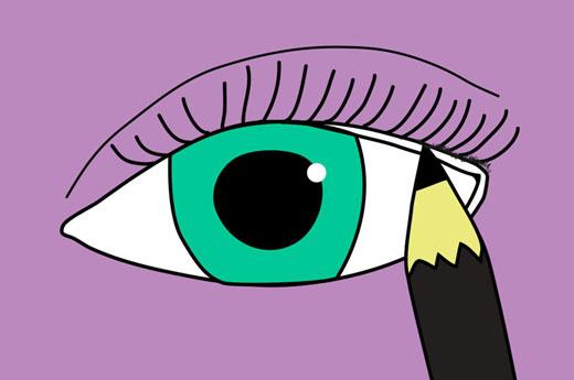 روش صحیح خط چشم کشیدن برای مبتدی ها , آرایش و زیبایی
