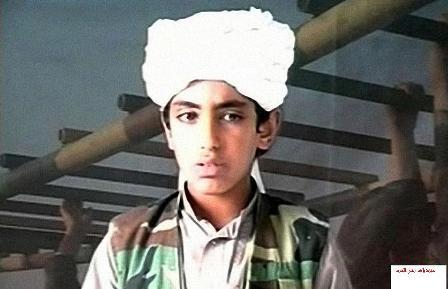حمزه پسر بن لادن در کابل، بغداد و غزه پیام جهاد داد