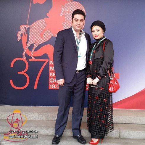 نیوشا ضیغمی : همسرم واقعا مرا تحمل می کند! , مصاحبه بازیگران