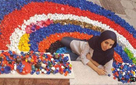کسب درآمد عجیب یک دختر در ایران